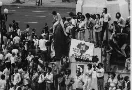 UNE participa dos protesto pela aprovação da Lei da Anistia