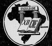 Cartaz do XII Congresso Nacional dos Estudantes (UNE) de 1949