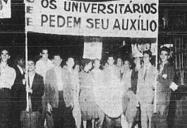 No final dos anos de 1950, moças e rapazes da União Estadual dos Estudantes de São Paulo percorreram as ruas da cidade angariando dinheiro para as greves operárias