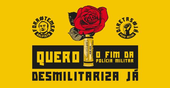 Campanha Desmilitariza Já