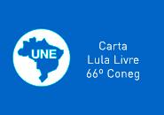 CARTA LULA LIVRE- CONEG